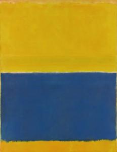 Untiled (Giallo e Blu) di Mark Rothko