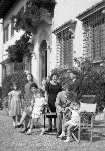 Salvatore Ferragamo e la sua famiglia
