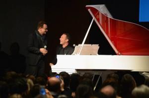 Chris Martin e Bono Vox