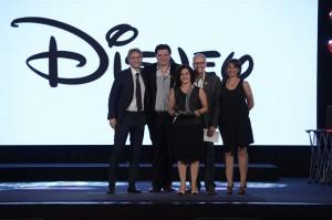 Team Disney ai Superbrands Awards 2015