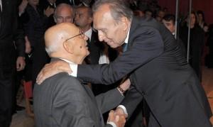 Giorgio Napolitano e Claudio Abbado