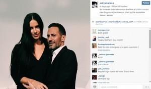 Adriana Lima su Instagram