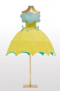 L'abito Ombrello di Agatha Ruiz de la Prada