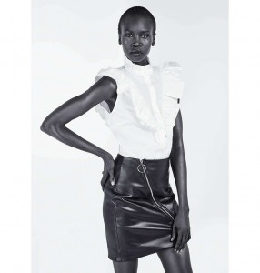 Alek Wek per HM Foundation