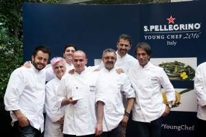 S.Pellegrino Young Chef 2016 - Alessandro Rapisarda e i giudici