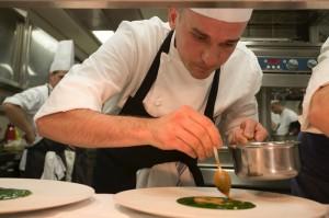 """Alessandro Rapisarda, Young Chef Italia 2016, Alle prese con il Risotto alla """"Marinara"""""""