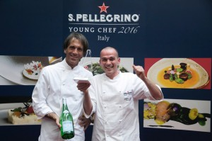 Alessandro Rapisarda e Davide Oldani - S.Pellegrino Young Chef 2016