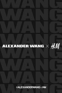 Alexander Wang per H&M - locandina
