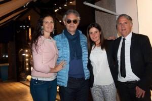 Andrea Bocelli da Massimo Rebecchi