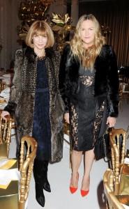 Anna Wintour e Emma Hill, designer di Mulberry