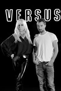 Donatella Versace e Anthony Vaccarello