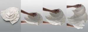 Artemide e Issey Miyake - linea In-Ei presentata al Salone del Mobile 2012
