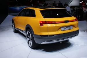 Audi h-Tron Concept - Salone di Detroit 2016
