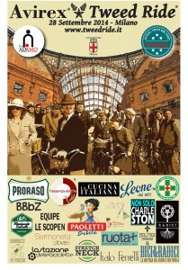 Locandina Avirex Tweed Ride 2014