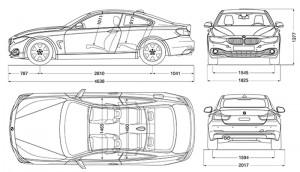 BMW Serie 4 Coupé - scheda tecnica