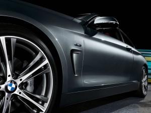 BMW Serie 4 Coupé  - aerodinamica