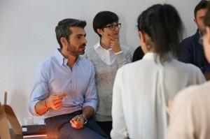 Luca Argentero al lavoro per Lovethesign