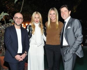 Bally apre a Los Angeles. Al party: Pablo Coppola, Rachel Zoe, Gwyneth Paltrow, Frederic de Narp