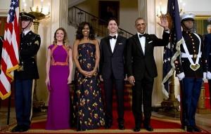 Barack Obama, Michelle Obama, Justin Trudeau, Sophie Gregoire Trudeau