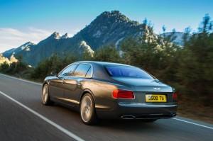 Bentley Flying Spur al Salone di Ginevra 2013 - dettaglio