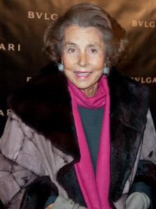 Liliane Bettencourt patron di L'Oréal