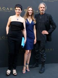 Hilary Swank, Juliette Binoche e Jeremy Irons a Saint Tropez per Bulgari