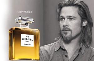 Brad Pitt per Chanel N°5