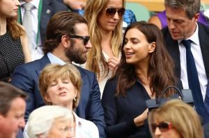 Bradley Cooper e Irina Shayk - Wimbledon 2016