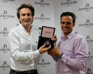 Bruno Grande e Franck Cammas - JeanRichard