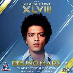 Bruno Mars al Super Bowl 2014