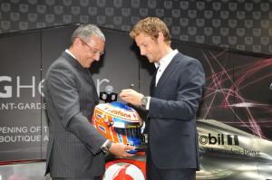 Jean-Christophe Babin e Jenson Button