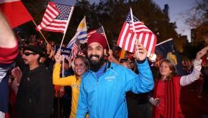 Cerimonia d'apertura della Maratona di New York